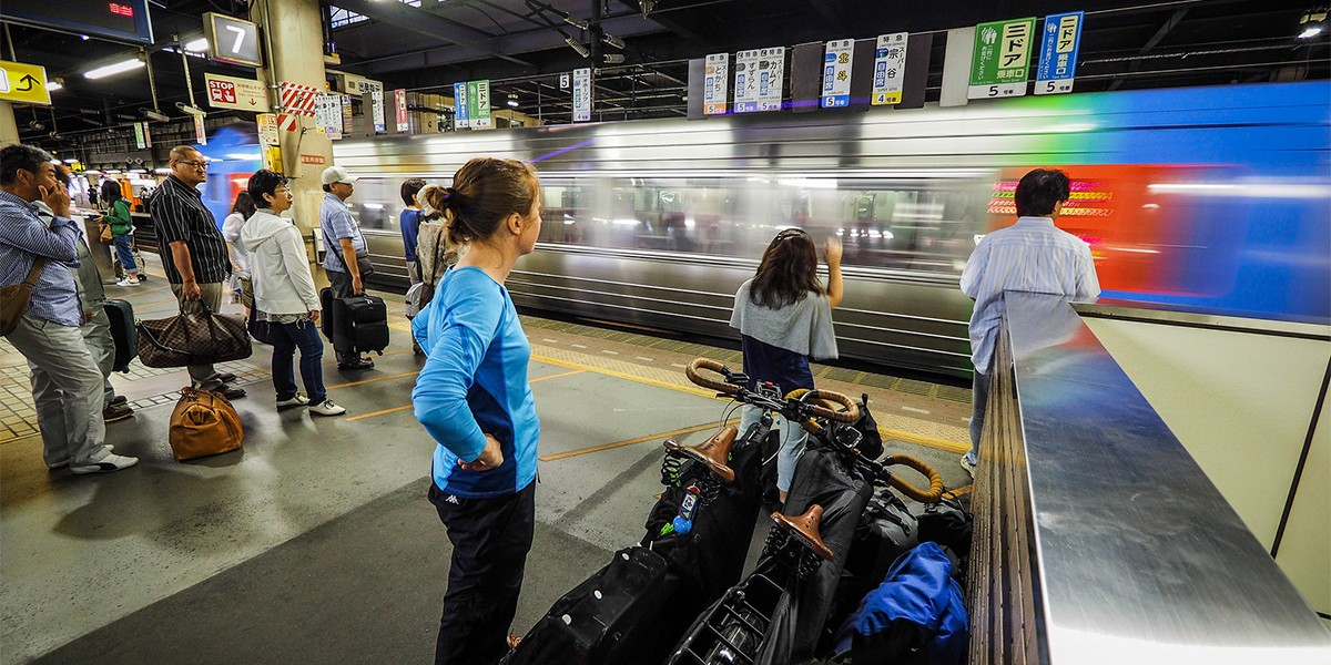 Nemuro Japan  city pictures gallery : Cycling Across Hokkaido, Japan Day 1 : A train from Sapporo to Nemuro ...